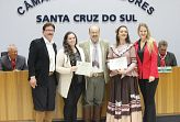 Invernada do CTG Lanceiros de Santa Cruz recebe homenagem