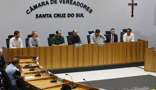 Sessão da Câmara ganha dez novos projetos